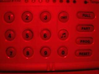 Household Photographs - Picture of Control panel of alarm system