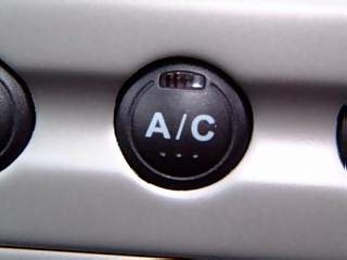 Vehicles Photographs - Picture of Air conditioning button on aluminium panel in Honda Civic Max