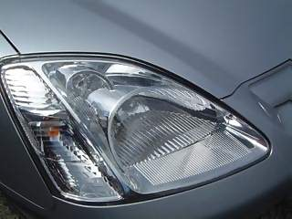 Vehicles Photographs - Picture of Front light unit of Honda Civic Max Car