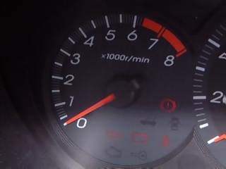 Vehicles Photographs - Picture of Rev counter in Honda Civic Max